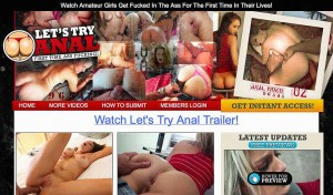 Awesome xxx site deal for anal fans