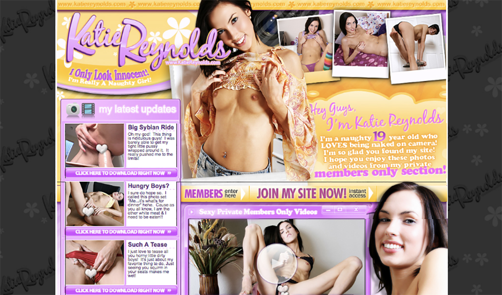 best pay porn sites for Katie Reynolds lovers