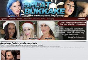 Nice xxx website providing class-A bukkake quality porn
