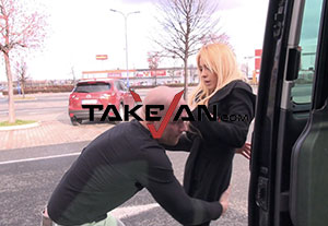 Top car sex porn site to enjoy some hardcore actions inside a van