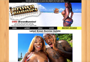 Top ebony porn site to watch black round asses