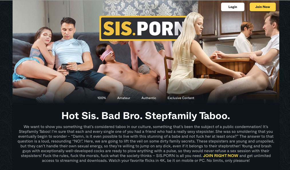 Amazing porn site to watch tons of enticing taboo videos
